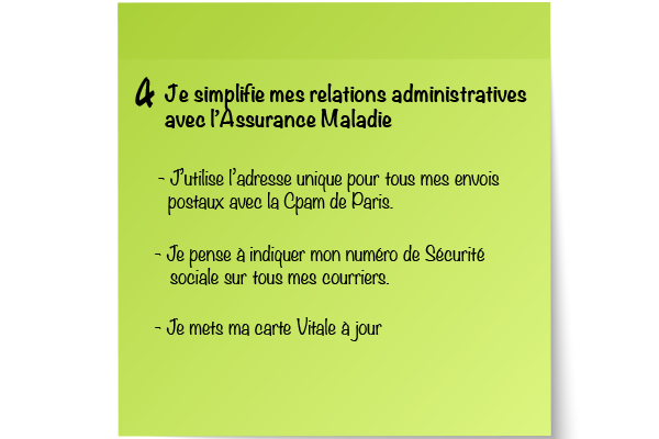 Carte Assurance Maladie Adresse.Resolution N 4 Je Simplifie Mes Relations Administratives